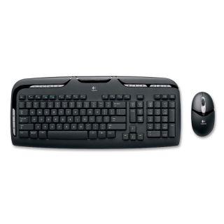 Logitech Wireless Desktop EX 110 Keyboard and Mouse