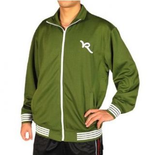 Green Athletic Track Jacket   Campus 101 Graphic. (Size XL) Clothing