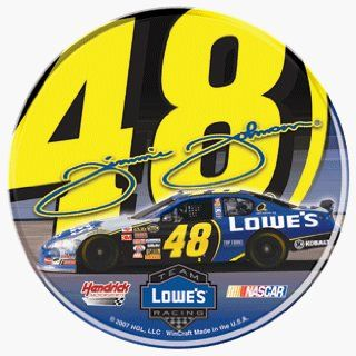 #48 JIMMIE JOHNSON 3 INCH ROUND DOMED DECAL Sports