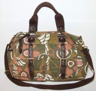 Fossil Ryder Satchel Floral Handbag Clothing