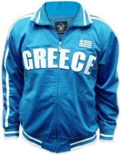 Greece Greek International Olympic Soccer Track Jacket