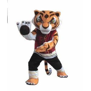 Kung Fu Panda TIGRESS Plush Cartoon Character Costume