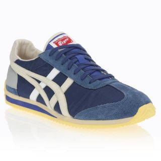 ONITSUKA TIGER Baskets California 78OG Mixte Bleu, beige, jaune et
