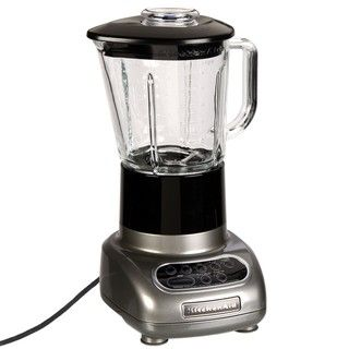 KitchenAid RKSB565MC Metallic Chrome 5 speed Blender with Glass Jar