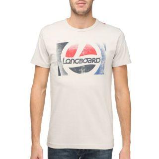 LONGBOARD Tee shirt Homme beige   Achat / Vente T SHIRT LONGBOARD Tee