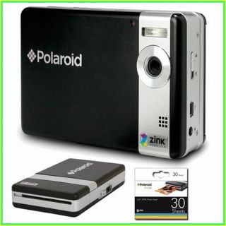 Polaroid Pogo 5MP Instant Digital Camera/ Mobile Printer/ Photo Paper