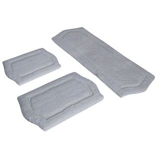 piece Ivory Memory Foam Bath Rug Set