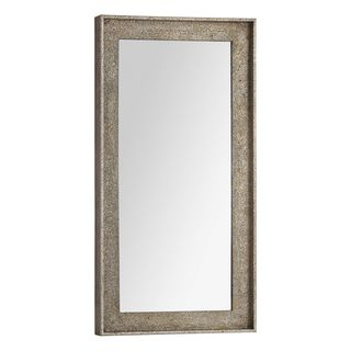 Bellevue Distressed Champagne Wood framed Mirror