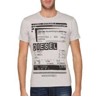 DIESEL T Shirt Barco Homme Gris   Achat / Vente T SHIRT DIESEL T Shirt