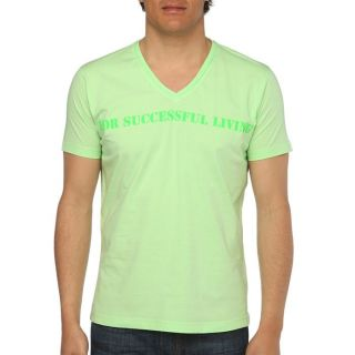 DIESEL T Shirt Stary Homme Vert pâle   Achat / Vente T SHIRT DIESEL T