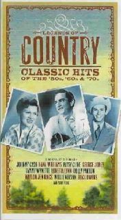 Legends Of Country Classic Hits Of The 50`s, 60`s And & 70`s [PA
