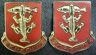 103rd Armor Distinctive Unit Insignia   Pair Clothing