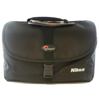 Nikon SLR Camera Multi Compartment Gadget Bag with Pockets/ Strap