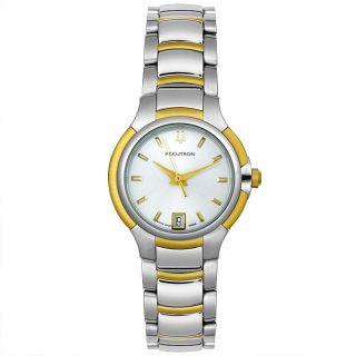 Accutron by Bulova Womens Torino Two tone Watch