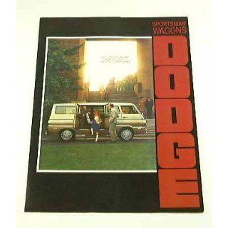 1970 70 Dodge SPORSMAN WAGON Van BROCHURE 90 108