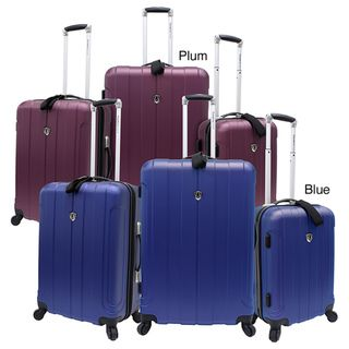 Travelers Choice TC3800 Cambridge 3 piece Hardside Spinner Luggage