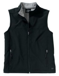 Charles River Mens Soft Shell Vests 106 BLACK/VAPOR GRAY AM Clothing