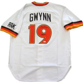 Autographed Tony Gwynn Jersey   Mitchell Ness: Everything