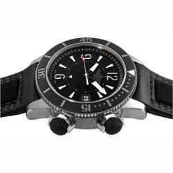 Jaeger LeCoultre Mens Master Compressor Diving US Navy Seals Watch