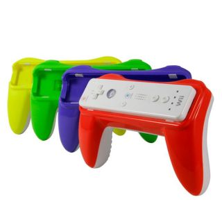 Wii   New Super Mario Bros Color Coded Retro Controller Grips