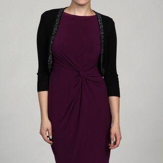 Jessica Howard Womens Petite 1 piece Bolero Sweater FINAL SALE