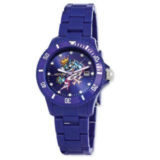 Ed Hardy Unisex Acrylic VIP Dark Blue Watch