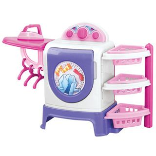 American Plastic Toys Plastic Toy Laundry Center