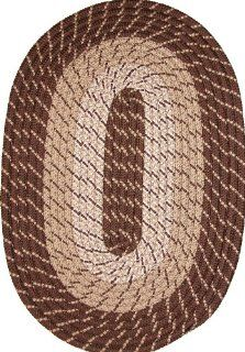 Plymouth 22 x 108 (Runner) Braided Rug in Brown Home