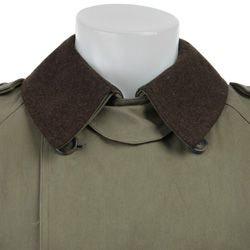 Joseph Abboud Mens Double breasted Trench Coat with Removable Lining
