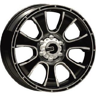 Mamba M7 20x9 Black Wheel / Rim 6x5.5 with a 0mm Offset and a 108.38