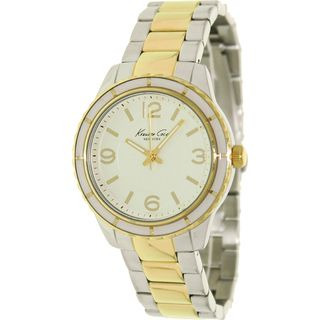 Kenneth Cole Womens Two tone Stainless Steel Watch