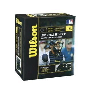 Wilson Youth EZ Gear Catchers Kit (Large X Large): Sports