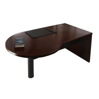 Mayline Mira Series 72 inch Right P shaped Desk