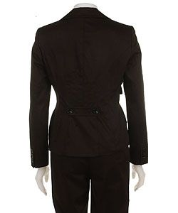 Nine West Black Multi seam Pant Suit with Camisole