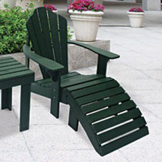 Recycled Plastic Adirondack Chair Patio, Lawn & Garden