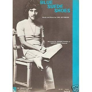 Sheet Music Blue Suede Shoes Johnny Rivers 115 Everything Else