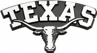 Texas Longhorns Metal Auto Emblem