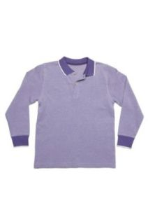 Long Sleeve Polo Shirt FRANCE, Color Lilac, Size 116 Clothing