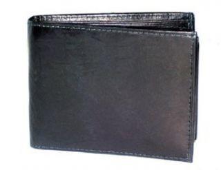 Kozmic 61 116 Leather Bifold Wallet Black Clothing