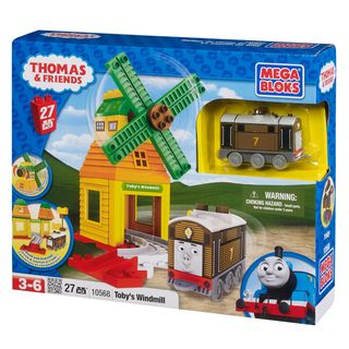 Mega Bloks Thomas and Friends Tobys Windmill Playset