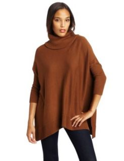 Vince Camuto Womens Cowl Neck Uneven Hem Dolman Sweater