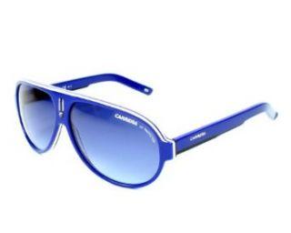 Carrera 25 Sunglasses   Blue White Black Frame, Blue Dbl