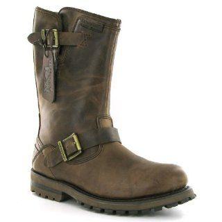 Caterpillar Hogan Mens Biker Boots, Size 12 Shoes