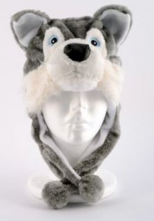 Plush Husky Animal Hat Wolf Brand New Animal Hat High
