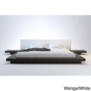 Worth California King Platform Bed with 2 Matching Nightstands