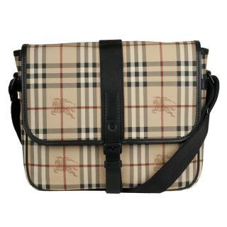 Burberry Haymarket Messenger Bag