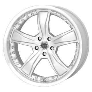 American Racing Razor AR198 Silver Wheel with Machined Lip (17x9