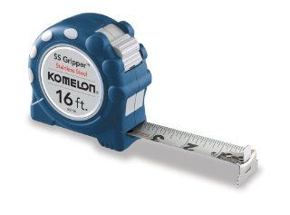 Komelon SS116SS Gripper 16 Foot Stainless Steel Measuring Tape