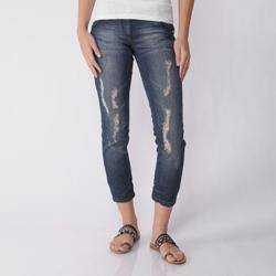 XOXO Juniors Low Rise Distressed Skinny Jeans