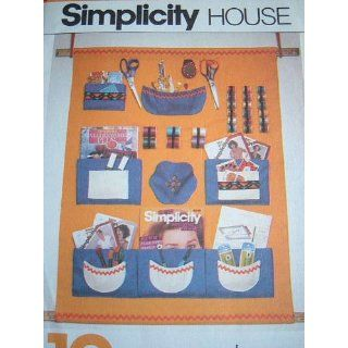 SIMPLICITY HOUSE #121   SEWING PATTERN FOR WALL UNIT: Everything Else